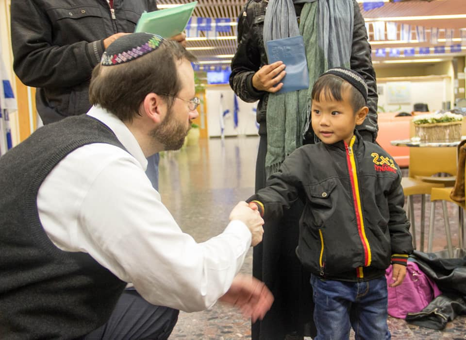 Nowa inicjatywa Bnei Menasze, kt?rzy pomagaj? innym